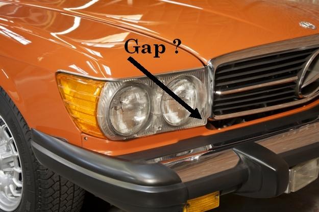 Grill gap mercedes benz forum for Garage mercedes gap